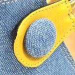 צהוב מוברש 305+ג'ינס בהיר 54