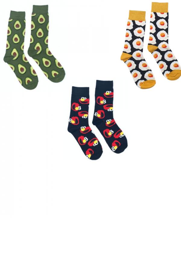 גרביים מודפסים